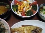 0614夕食.JPG